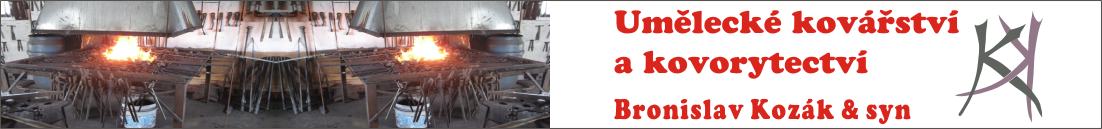 Umělecké kovářství a kovorytectví Bronislav Kozák & syn
